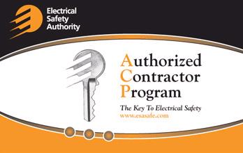 authorized contractor