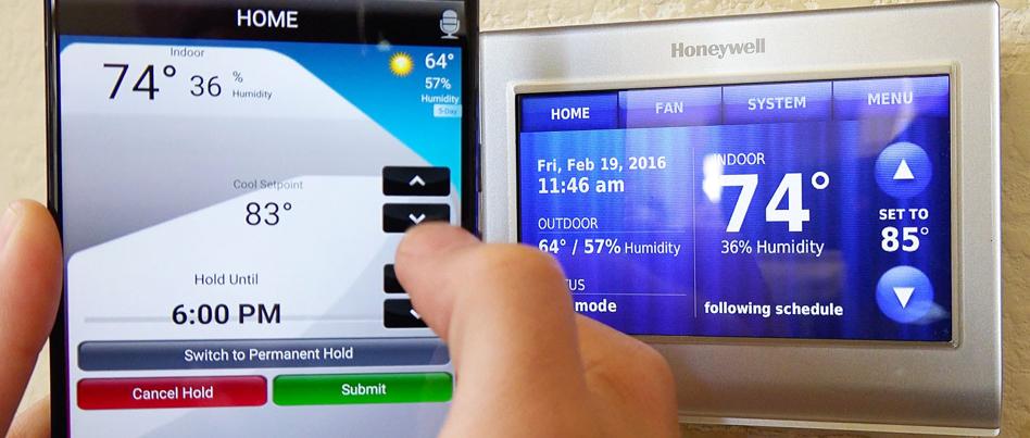 honeywell-1 Thermostats