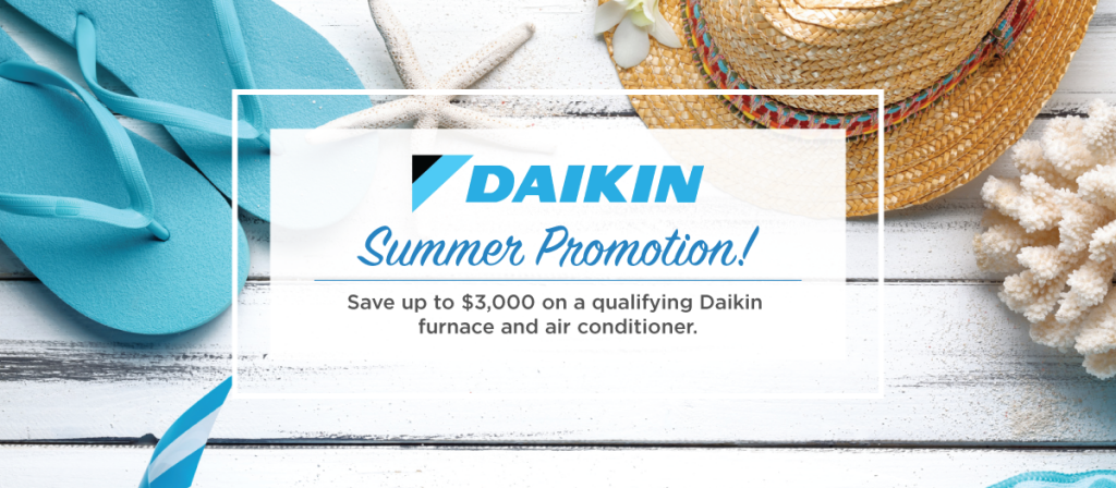 Daikin Summer Sale