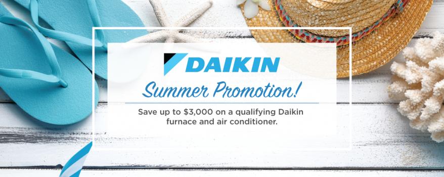 Daikin Summer Sale
