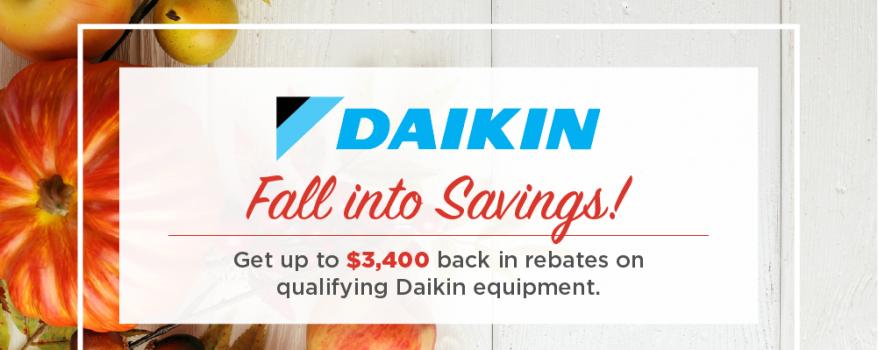 daikin fall promotion