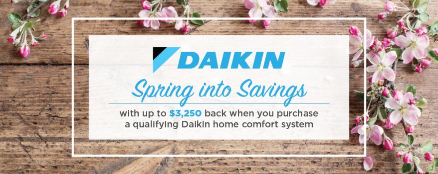 Daikin Spring Promotion