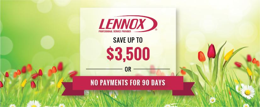lennox_springpromo-blog_DELTA Our Lennox Spring Promotion Has Sprung!