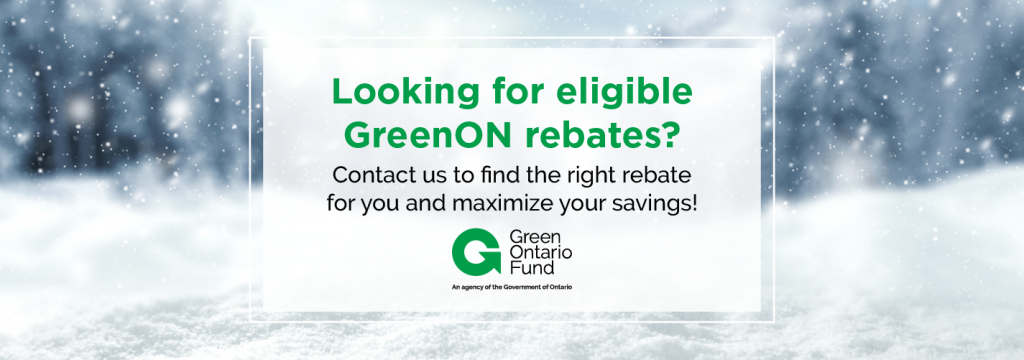GreenON Government Rebates