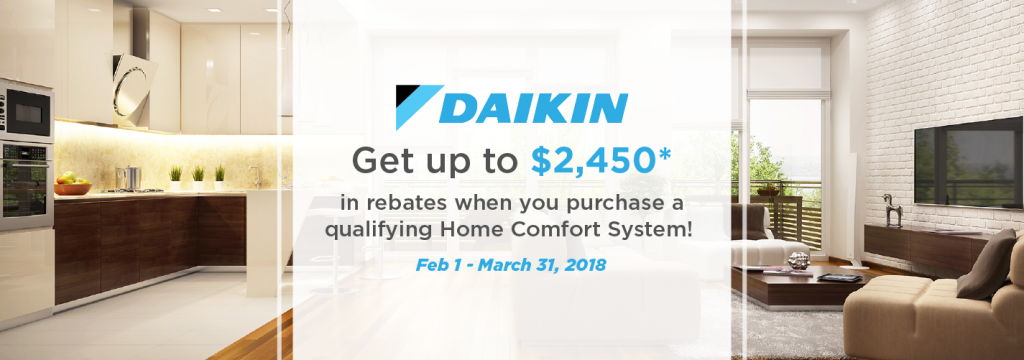Daikin Rebate HVAC