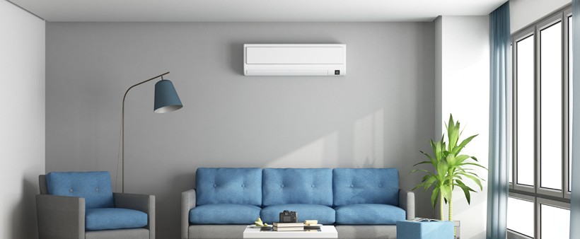Ductless Air Source Heat Pump